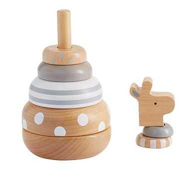 Metallic Giraffe Stacker - Pottery Barn Kids