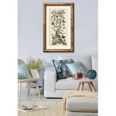 'Chinoiserie Natura I' Framed Graphic Art Print - Wayfair