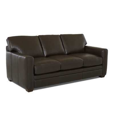 Carleton Leather Sofa - Wayfair