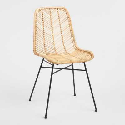 Natural Wicker Loren Chair by World Market - World Market/Cost Plus