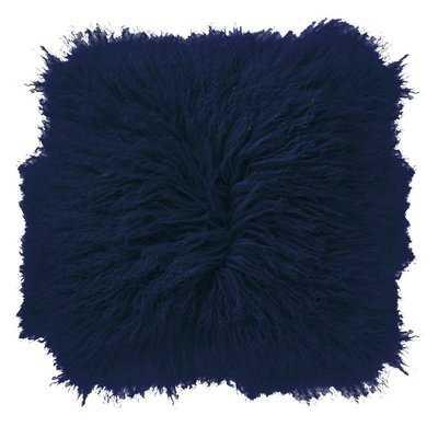 Borealis Lamb Fur Throw Pillow - Wayfair