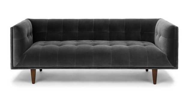 Cirrus Shadow Gray Sofa - Article