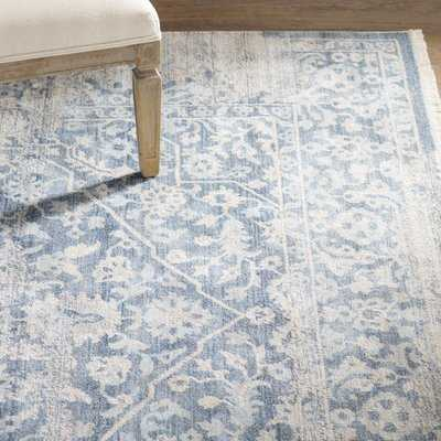 "Mendelsohn Vintage Persian Traditional Blue Area Rug 7'10""x10'3"" - Wayfair"