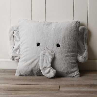 Nikita Elephant Plush Throw Pillow - AllModern
