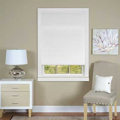 Achim 35 in. W x 64 in. L Top Down-Bottom up Honeycomb White Cordless Cellular Shade - Home Depot