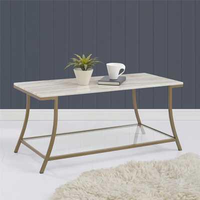 Terra Brass Coffee Table - Home Depot