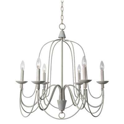 Kollman 6-Light Candle-Style Chandelier - Wayfair