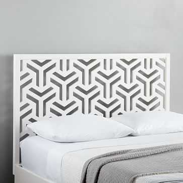 Lattice Headboard, Queen - West Elm