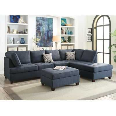 Reversible Sectional - Wayfair