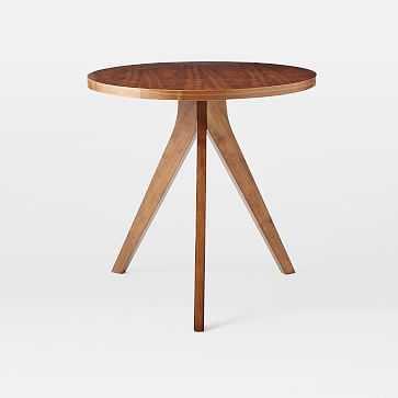 Tripod Table, Walnut - West Elm