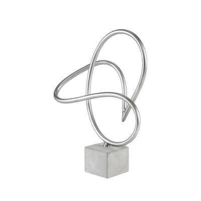 Crofts Metal Sculpture - Wayfair