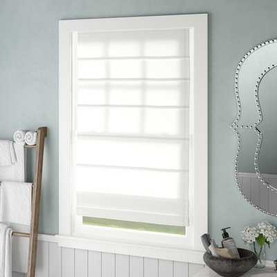 Energy Efficient Semi-Sheer Roman Shade - AllModern