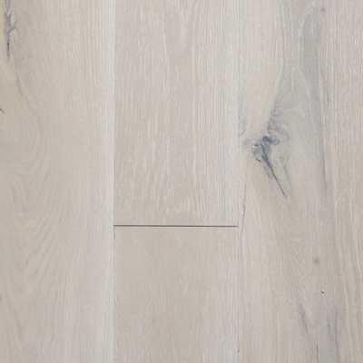Blue Ridge Hardwood Flooring Take Home Sample - Castlebury French Linen European Sawn White Oak Click Engineered Flooring- 5 in. x 7 in. - Home Depot