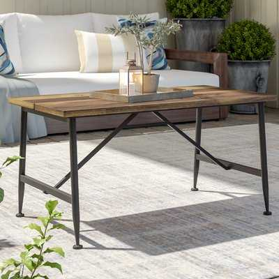 Cabarley Outdoor Wood Coffee Table - Wayfair