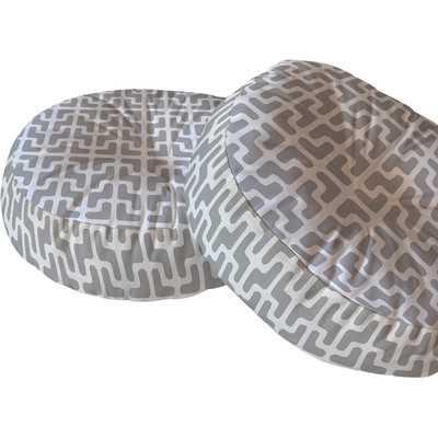 Lattice Jags Floor Pillow - Wayfair