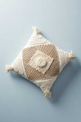 Textured Naylei Pillow - Anthropologie