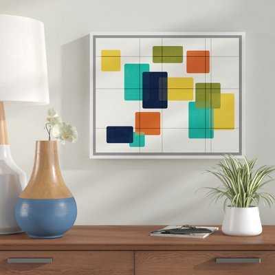 'Revelations' Framed Graphic Art Print on Canvas - Wayfair