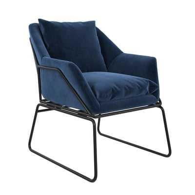 Alivia Armchair - Blue - Wayfair