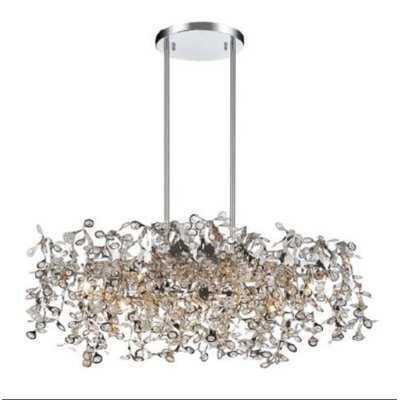 Ambriz 7-Light Crystal Chandelier - Wayfair