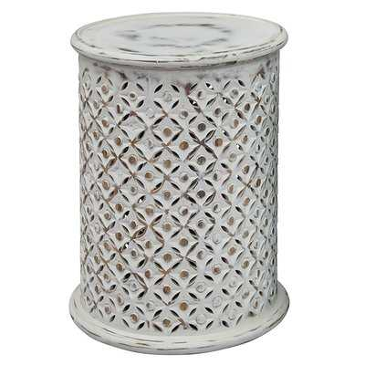 Lorraine Global Archive Drum End Table - Wayfair