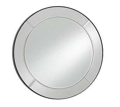 Astor Mirror, Round - Pottery Barn