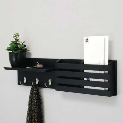 Sydney Wall Shelf and Mail Holder - AllModern