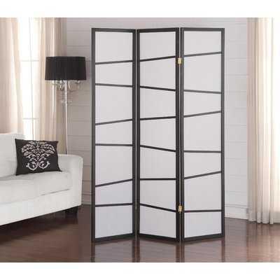 Rafael 3 Panel Room Divider - Wayfair