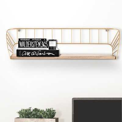 Carnbrock Floating Wall Shelf - Wayfair