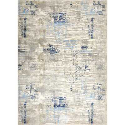 Melrose Lorenzo Gray/Blue 7 ft. 10 in. x 10 ft. 2 in. Indoor Area Rug - Home Depot