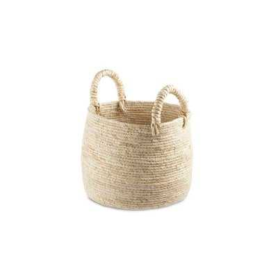 Maiz Wicker Basket - Wayfair