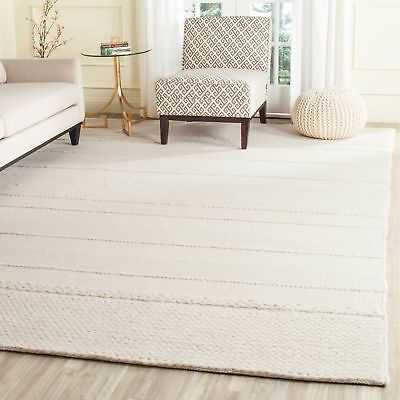 Safavieh Hand-Tufted Natura Natural Wool Rug - 9' x 12' - eBay