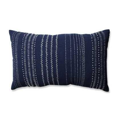 Tribal Stitches 100% Cotton Lumbar Pillow - AllModern