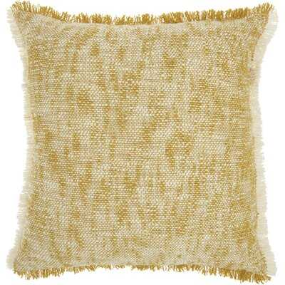Natal Solid Cotton Throw Pillow - AllModern