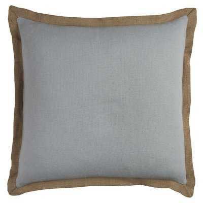 Shayna Jute Trim Pillow Cover - Wayfair