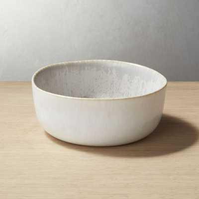 Drift Reactive Grey Soup Bowl - CB2