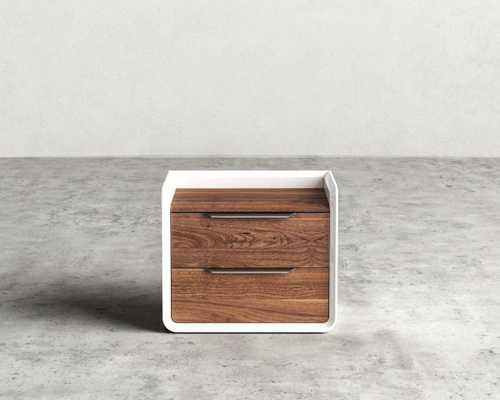 Grayson Night Stand - Walnut Veneer - Rove Concepts