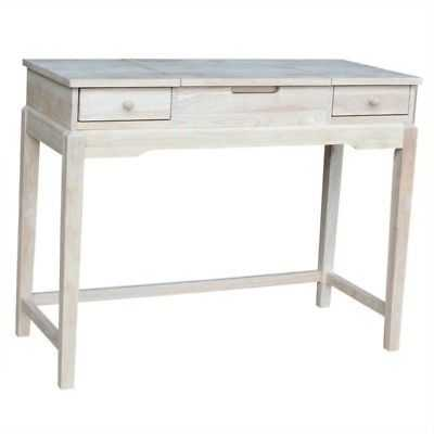 International Concepts Home Accents Unfinished Vanity Table - eBay