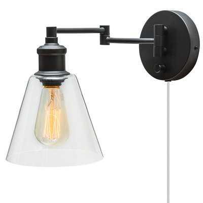 Aidan 1-Light Swing Arm Lamp - Birch Lane