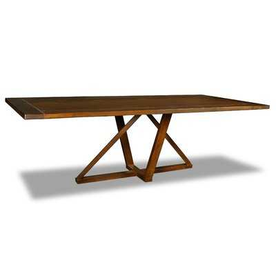 Nuss Solid Wood Dining Table - Wayfair