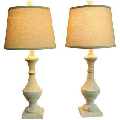 "Apollinaire 27"" Table Lamp Set - Birch Lane"
