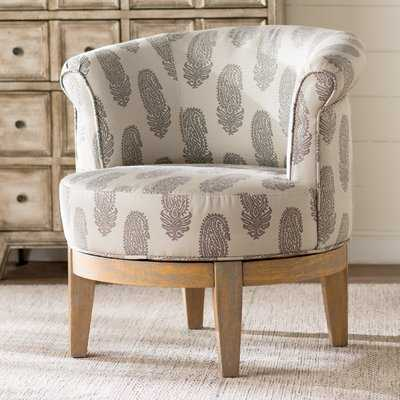 Haywood Swivel Barrel Chair - Wayfair
