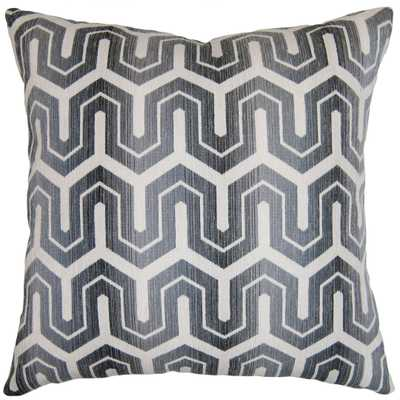 BENNET GEO 26X26 PILLOW - Square Feathers