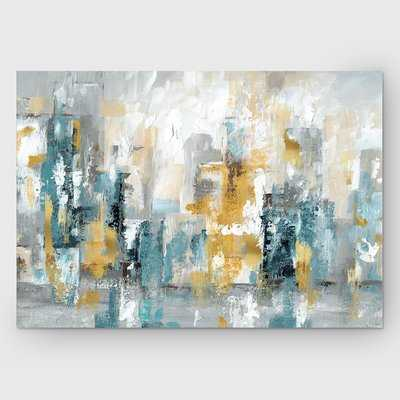 'City Views II' Painting Print on Wrapped Canvas - Wayfair