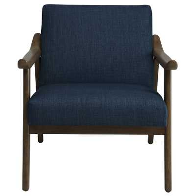 Taylor-Accent Chair-Beige: Blue - Blue - eBay