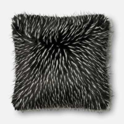 """PILLOWS - BLACK / WHITE - 22"""" X 22"""" Cover Only - Loma Threads"""