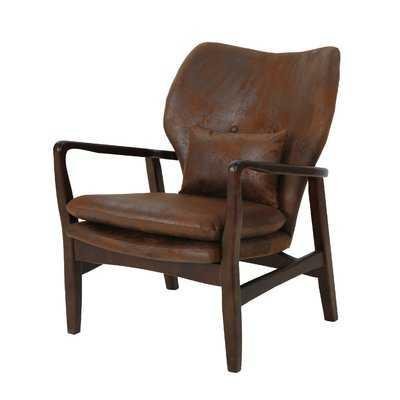 Palombo Mid Century Modern Armchair - Wayfair