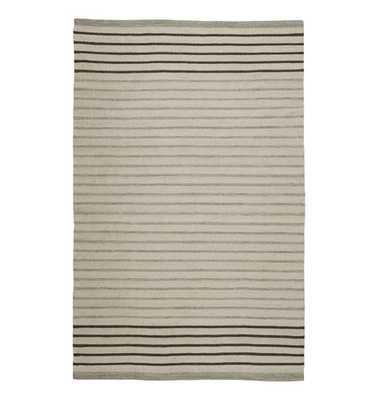 Striped Dhurrie Flatweave Rug - Rejuvenation