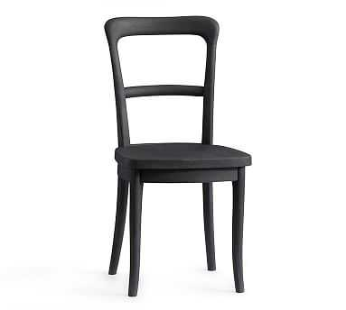 Cline Dining Chair, Charcoal - Pottery Barn