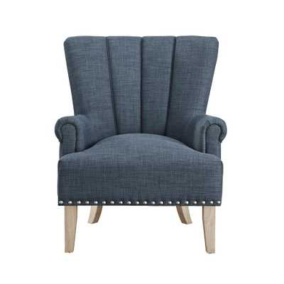 Dani Blue Accent Chair - Home Depot