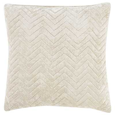 "Design (US) Cream 22""X22"" Pillow - Collective Weavers"
